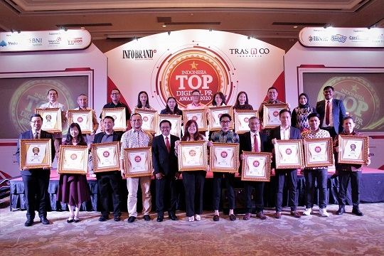 TRAS N CO Indonesia Anugerahkan TOP Digital PR Award 2020